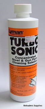 Lyman Turbo Sonic Steel And Gun Part Cleaning Solution