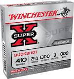 """Winchester SuperX 410g 000 Buckshot 2.5"""" x5"""