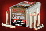 Hornady Critical Defence 22WMR 45gr FTX 50 Rounds