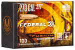 Federal Fusion Projectiles 270cal 130gr x100