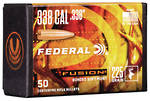 Federal Fusion Projectiles 338cal 225gr x50