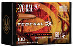Federal Fusion Projectiles 270cal 150gr x100