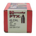 Hornady 45cal .452 250gr FTX Box of 50 #45201