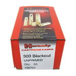 Hornady Brass Cases 300 Blackout (unprimed) box of 50 #86751