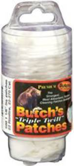 "Butchs Patches 2 1/2"" 45-58cal x100"