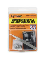 Lyman Shooters Scale Weight Check Set