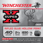 Winchester 410 Rifled Slugs 5 Rounds