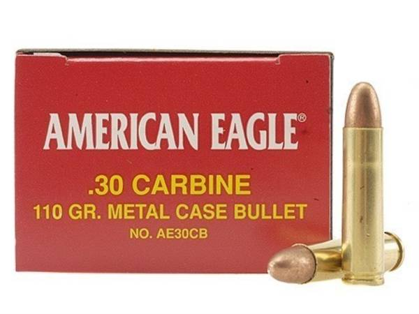 American Eagle 30M1 Carbine 110FMJ 50 Rounds