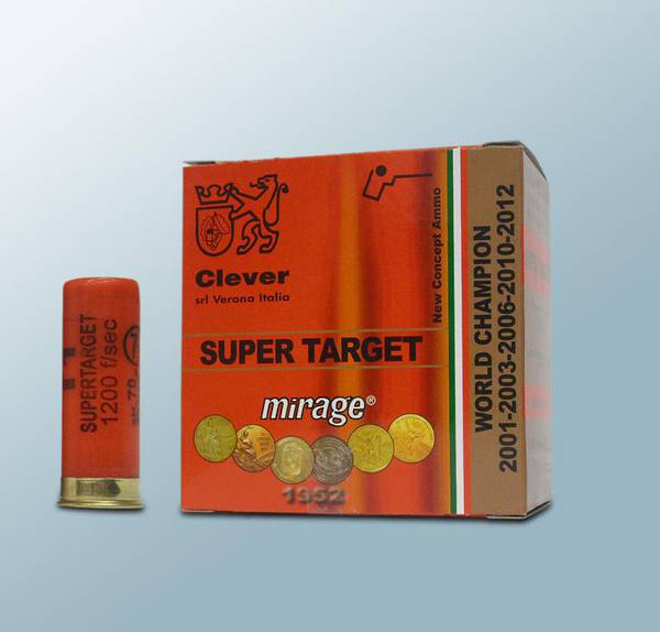 Clever Mirage T1 SuperTarget 32gr #7.5 250 Rounds