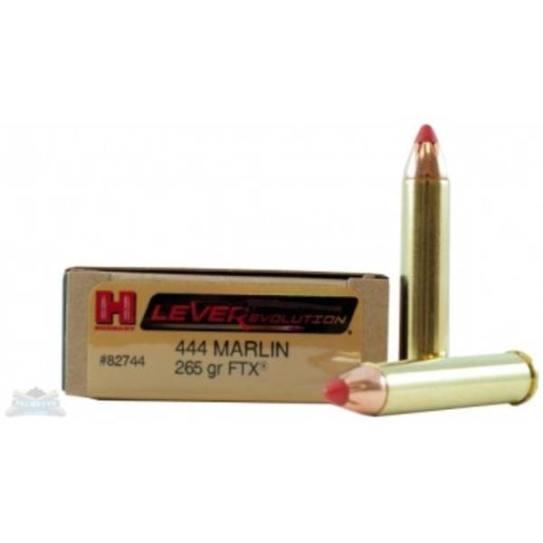 Hornady Leverevolution 444 Marlin 265gr FTX 82744