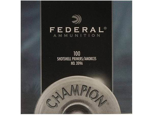 Federal Shot Shell Primers 1000's #209A
