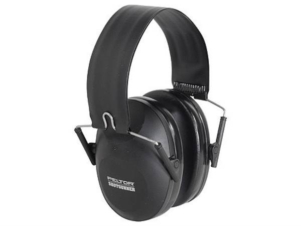 Peltor Shotgunner Folding Earmuffs (Black Colour)