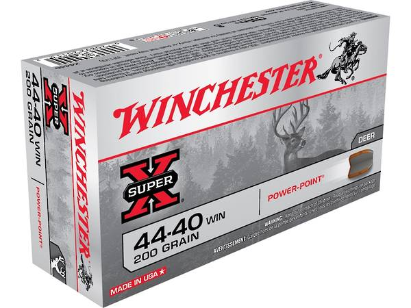 Winchester Super X 44/40 200 Grain 50 Rounds