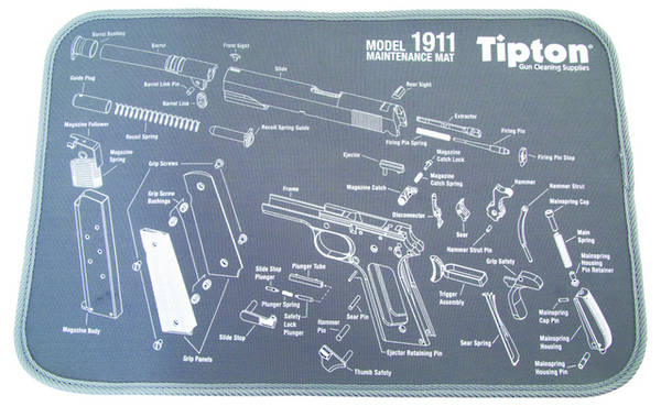 Tipton 1911 Maintenance Mat Gun Vices And Tools Vices