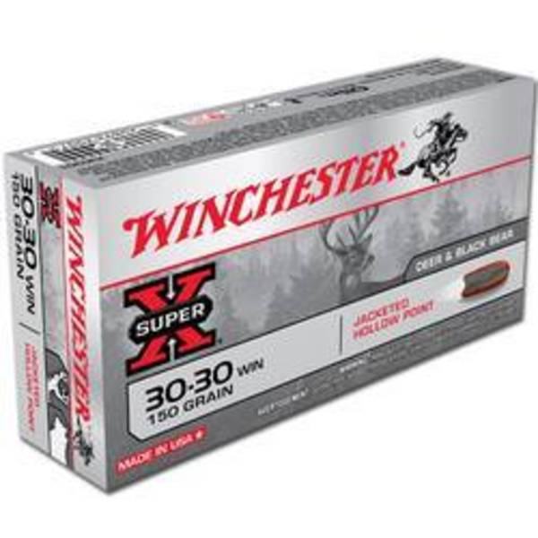 Winchester Super X 30-30 Win 150gr  PP 20 Rounds
