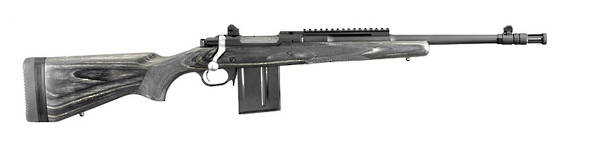 Ruger Gunsite Scout Rifle 5.56 Blued 06824