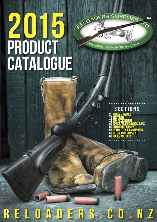 Reloaders Product Catalogue 2015