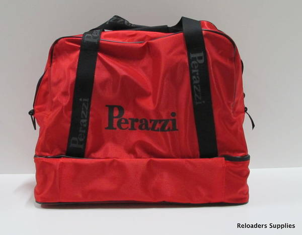 Perazzi Double Bottom Bag Red