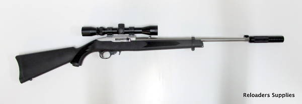 Ruger 10/22 Synthetic Stainless Package