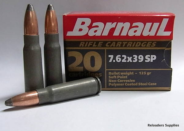 Barnaul 7.62x39 SP 500 Rounds