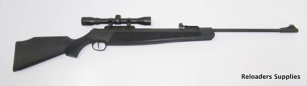 Ruger Air Rifle & Scope package  Black Hawk as new!
