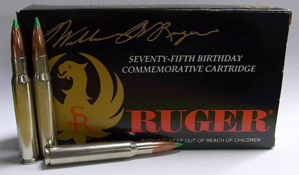 Ruger 75th Commemorative 30.06 Ammo