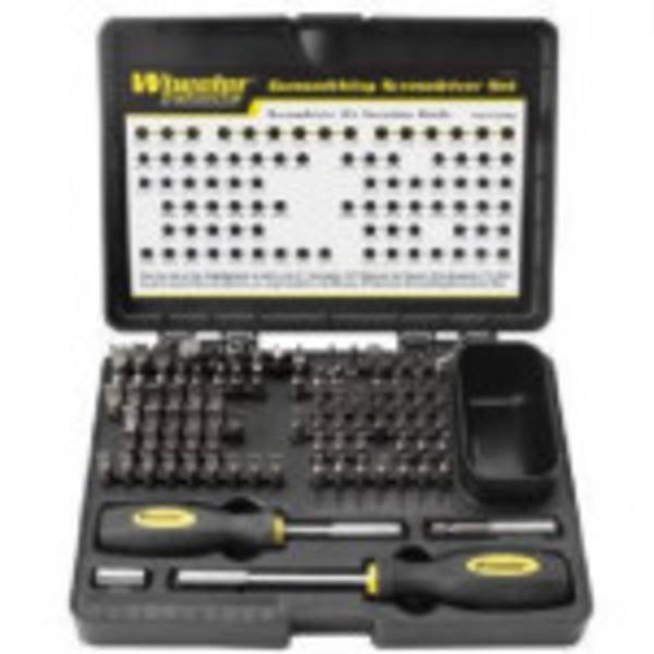 Wheelers Deluxe Gunsmithing Screwdriver set 89 Piece