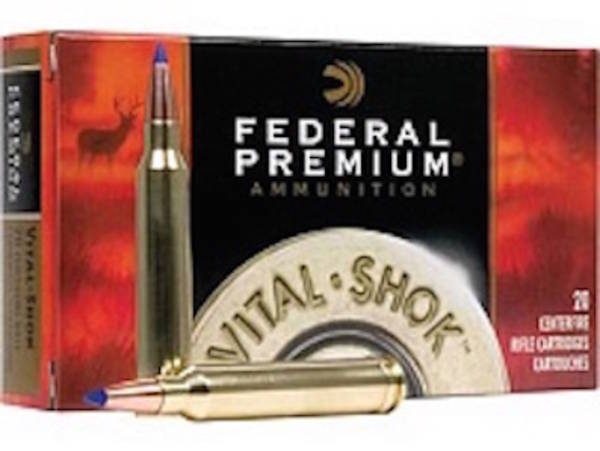 Federal Premium Vital Shok Ammo 223 Remington 20 Rounds