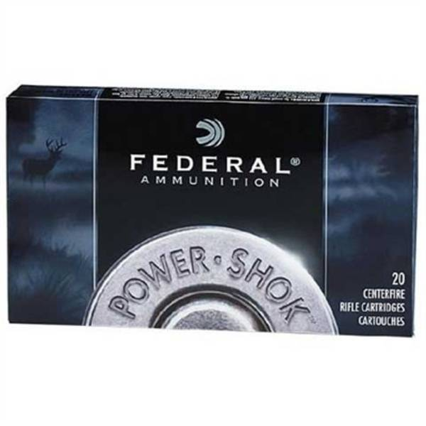 Federal Power Shok 223 Remington 55gr Soft Point 20 Rounds