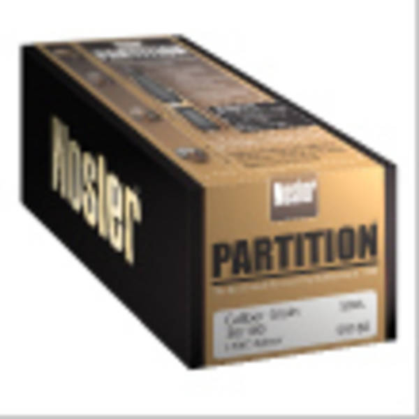 Nosler Partition 22cal 60gr #16316 Box of 50