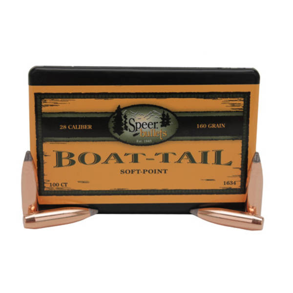 Speer Boat Tail Soft Point 28cal 145grain 1628