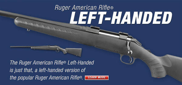 Ruger American Blued 270 Win Left Hand #06916