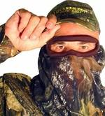 Quaker Boy Mossy Oak Breakup Bandito Elite 3/4 Facemask