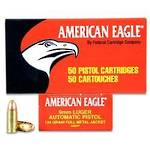 American Eagle 9mm 115gr FMJ 250 Rounds