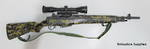 Norinco M305 Carbine Camo With Scope And Rings Used