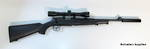 "Norinco Puma JW15 22lr 15"" barrel / scope / suppressor / gun bag package"