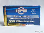 PPU Ammunition 308 Win 150gr Sp x20