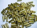 38 Super +P brass 100's