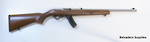 Ruger 10/22 Deluxe Walnut Stainless .22LR With 15 Round Magazine