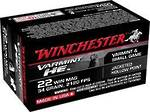 Winchester Varmint HE 22Mag 34gr JHP 50 Rounds