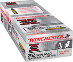 Winchester Super X 22Mag 40gr JHP 50 Rounds