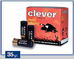 12ga Clever Mirage Soft Steel Hunting 35 gram T3 #0 250 Rounds
