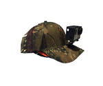 Stag Valley Camo Hunting/fishing cap w/Go Pro Mount & acc