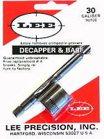 Lee Decapper And Base 22 Caliber 90103